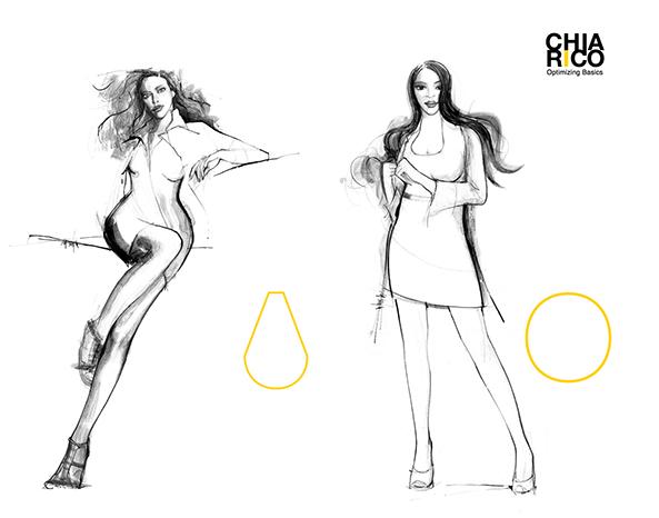 Damesmode Chiarico ontworpen voor elk lichaam en body shape