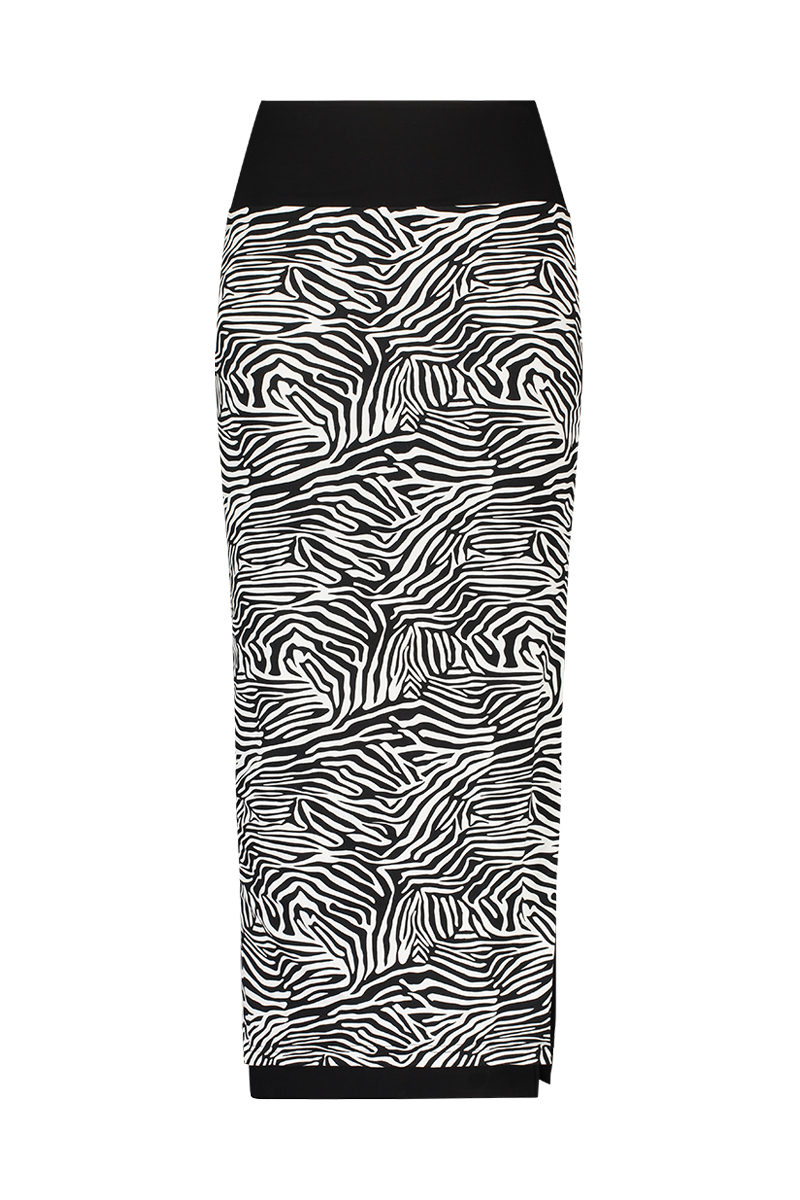Skirt Long Zebra PR Rev. - Zomer 2020