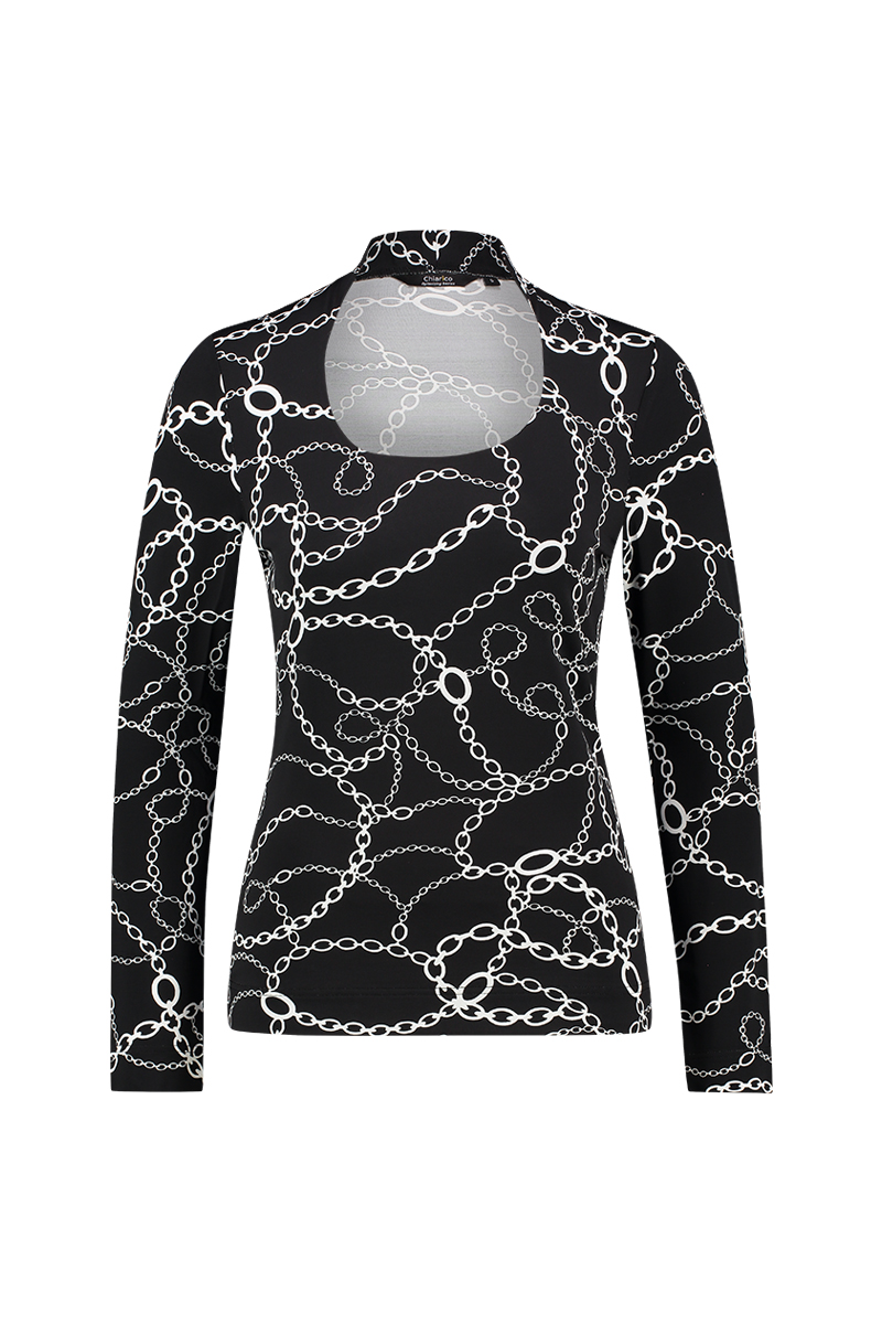 Top Angeline Chain print