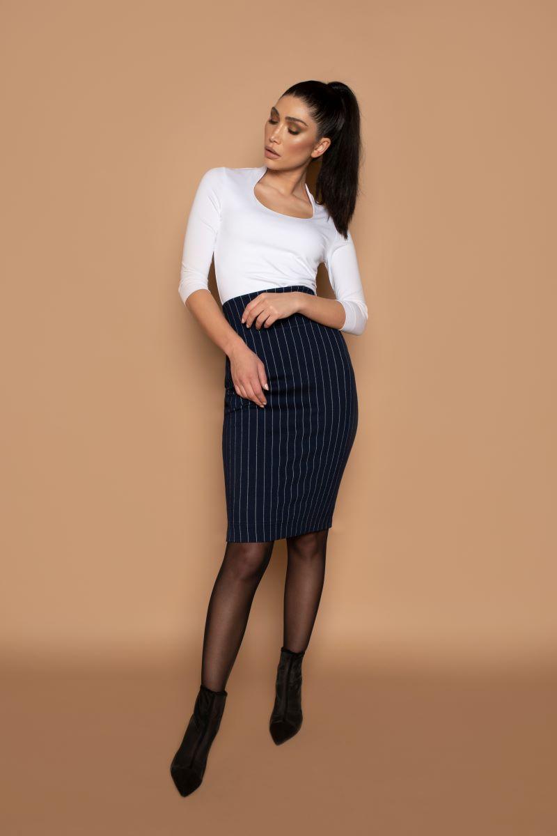 Skirt Split Stripe
