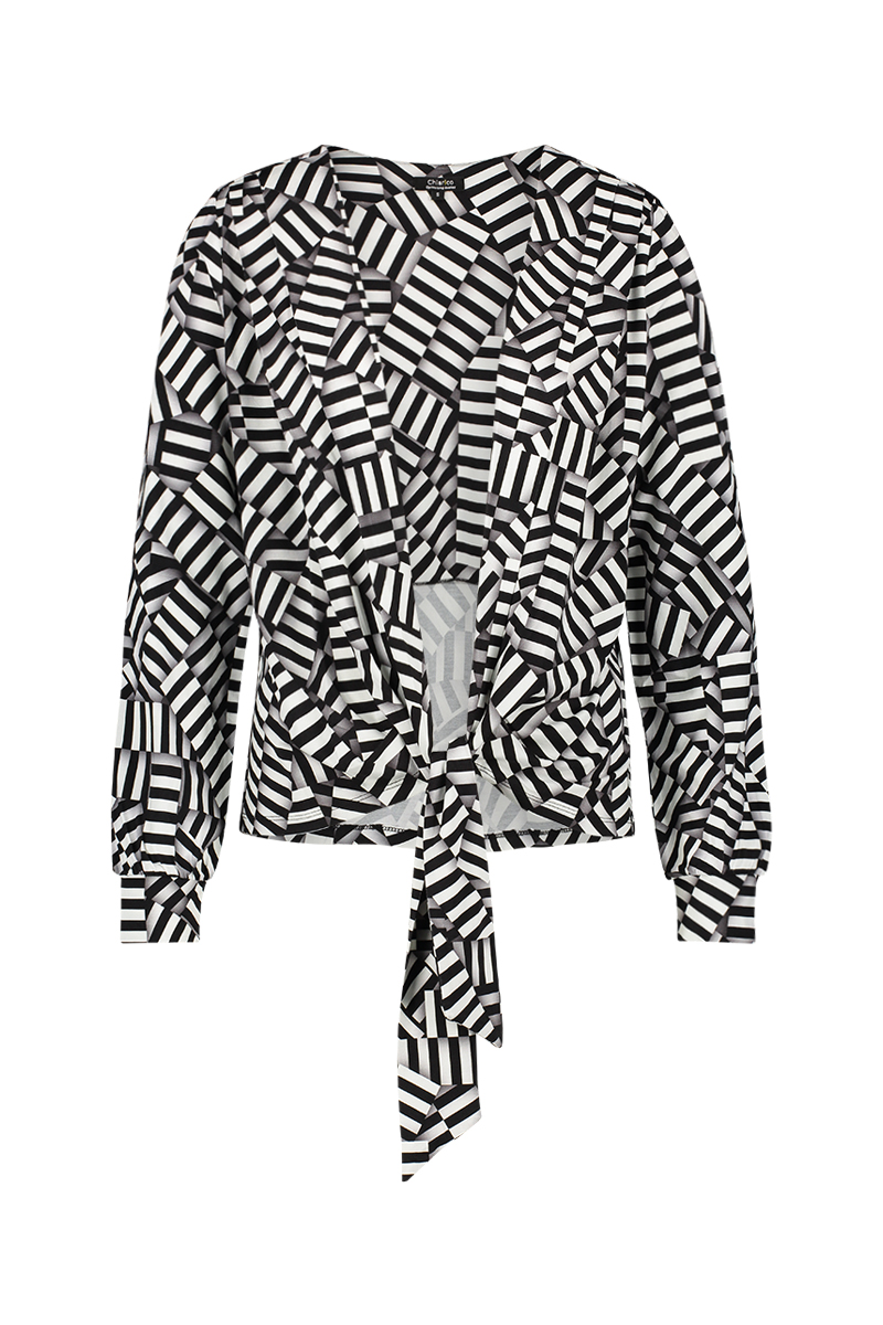 Vest Bow stripe pr - Zomer 2019