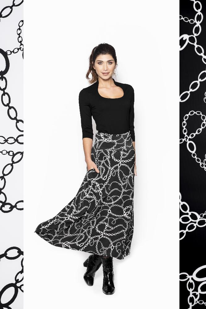 Dress Rev. Chain print - 1 Dress 4 Styles