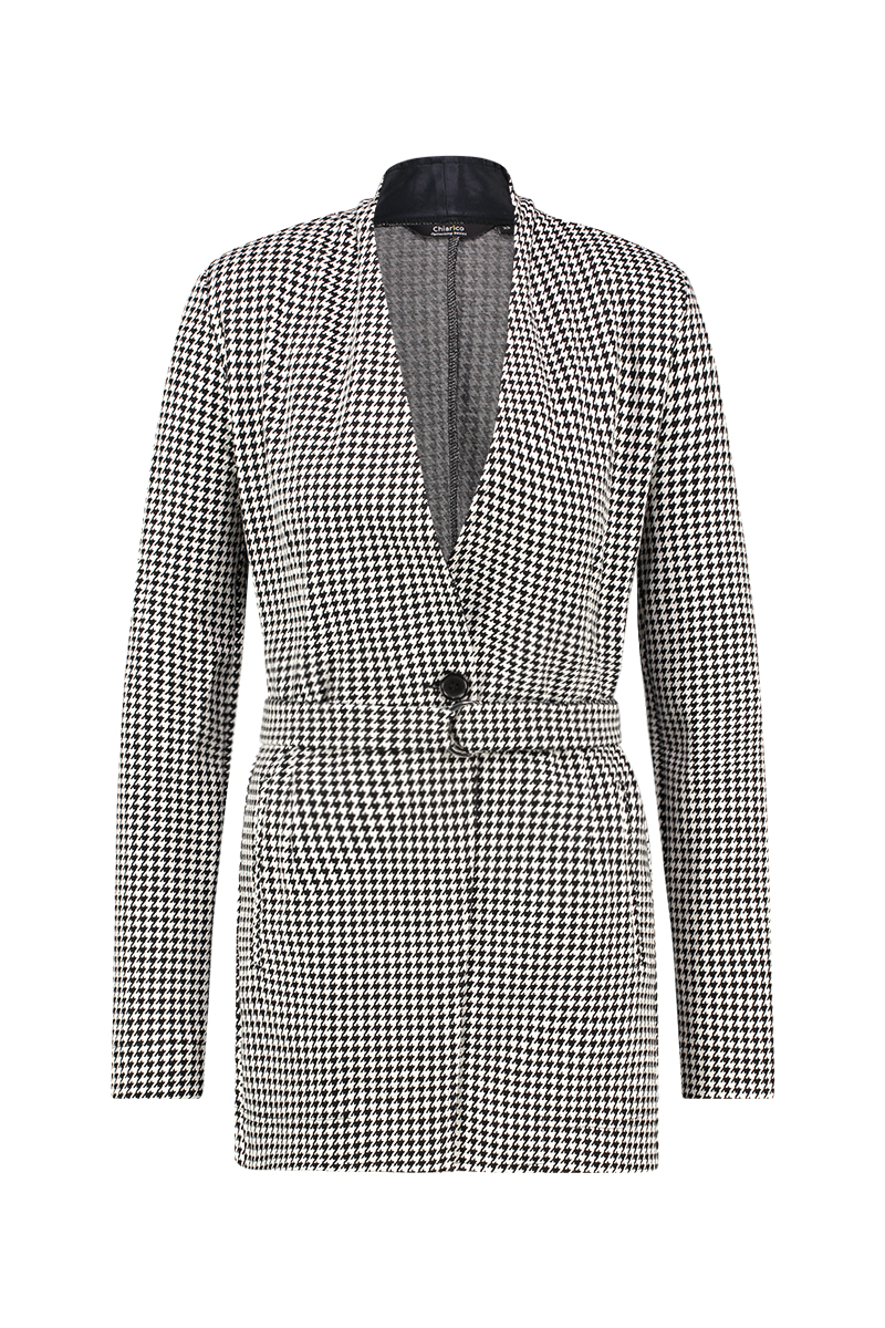 Blazer Wide Pied de Poule - Winter 2019