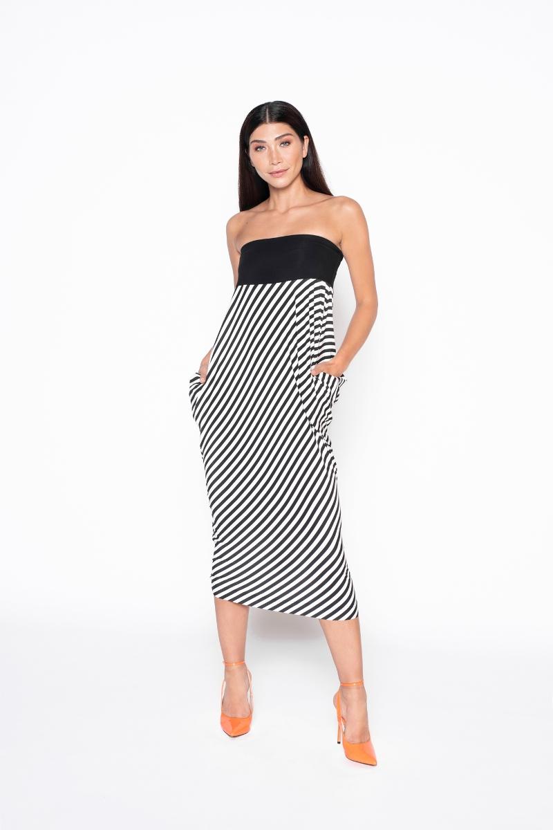 Dress Easy Strepen - 1 Dress 4 Styles