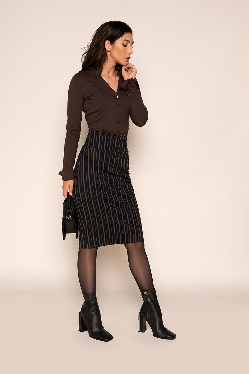 Skirt Split Chalk  - Winter 2021
