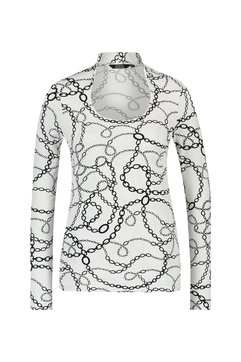 Top Angeline Chain print - Winter 2019