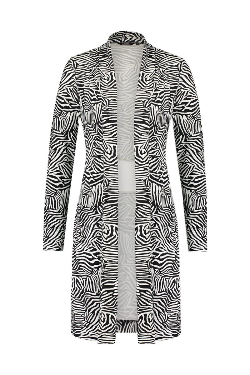 X Vest Long Band Zebra - Zomer 2020
