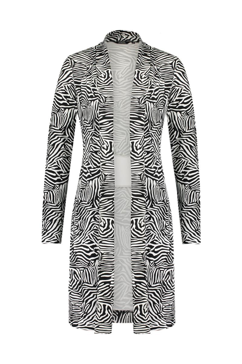 X Vest Long Band Zebra