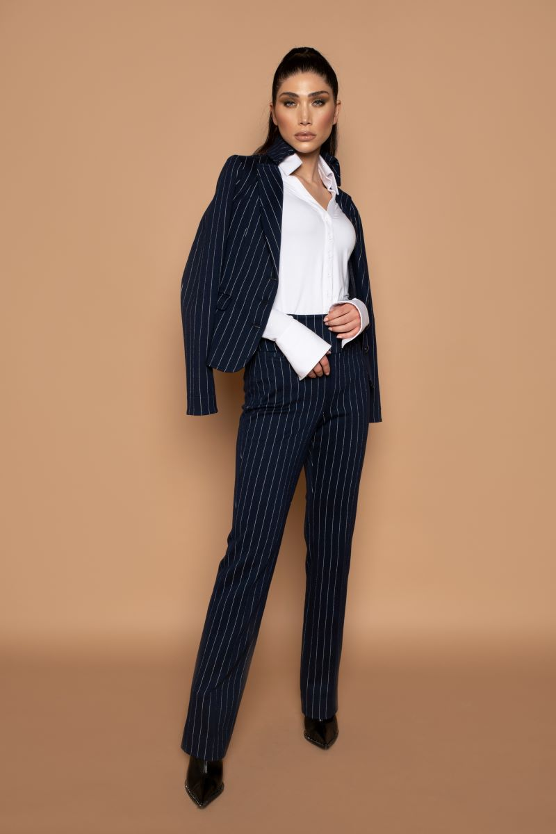 Blazer short Stripe