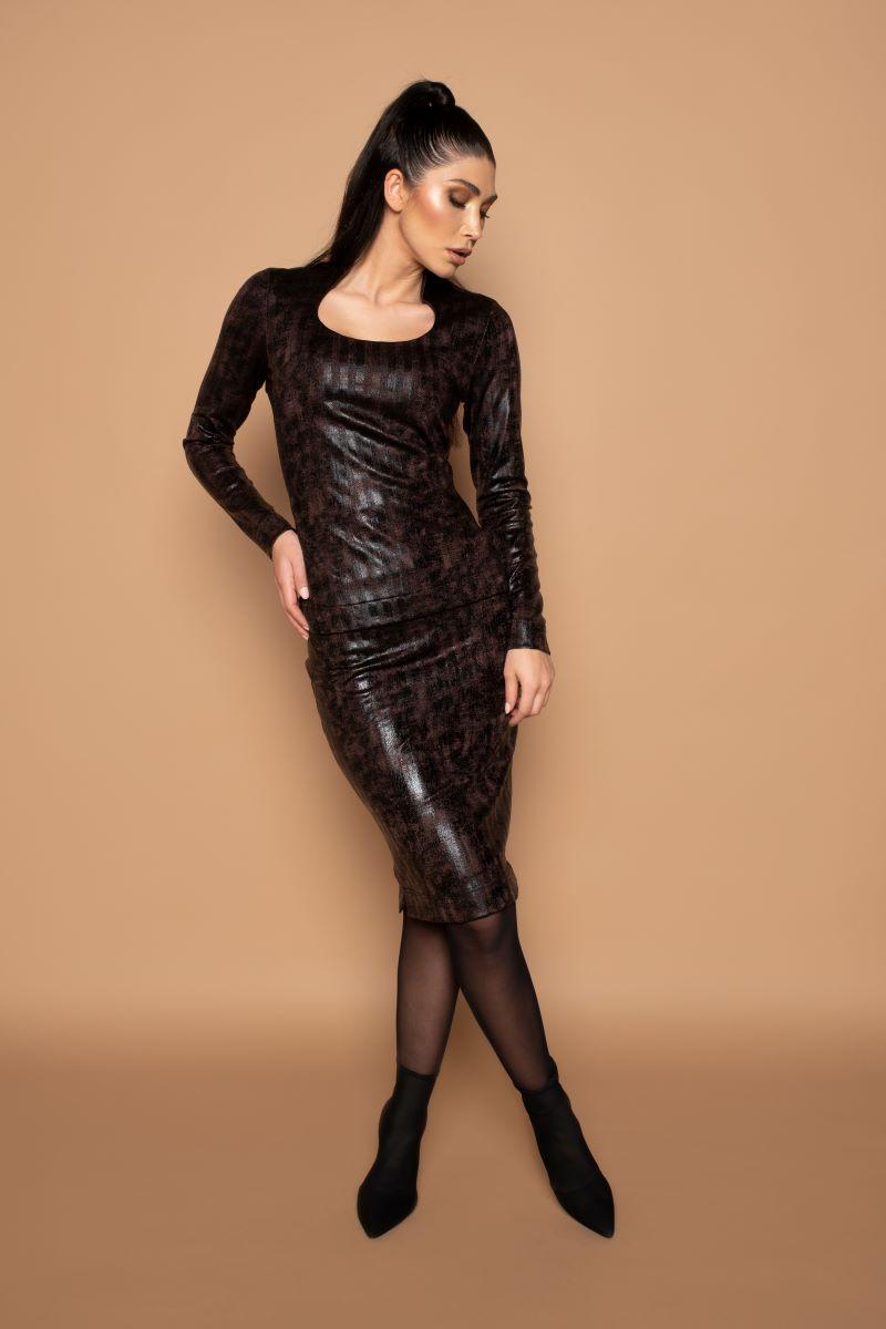 Skirt Split Dark Metallic - Winter 2020