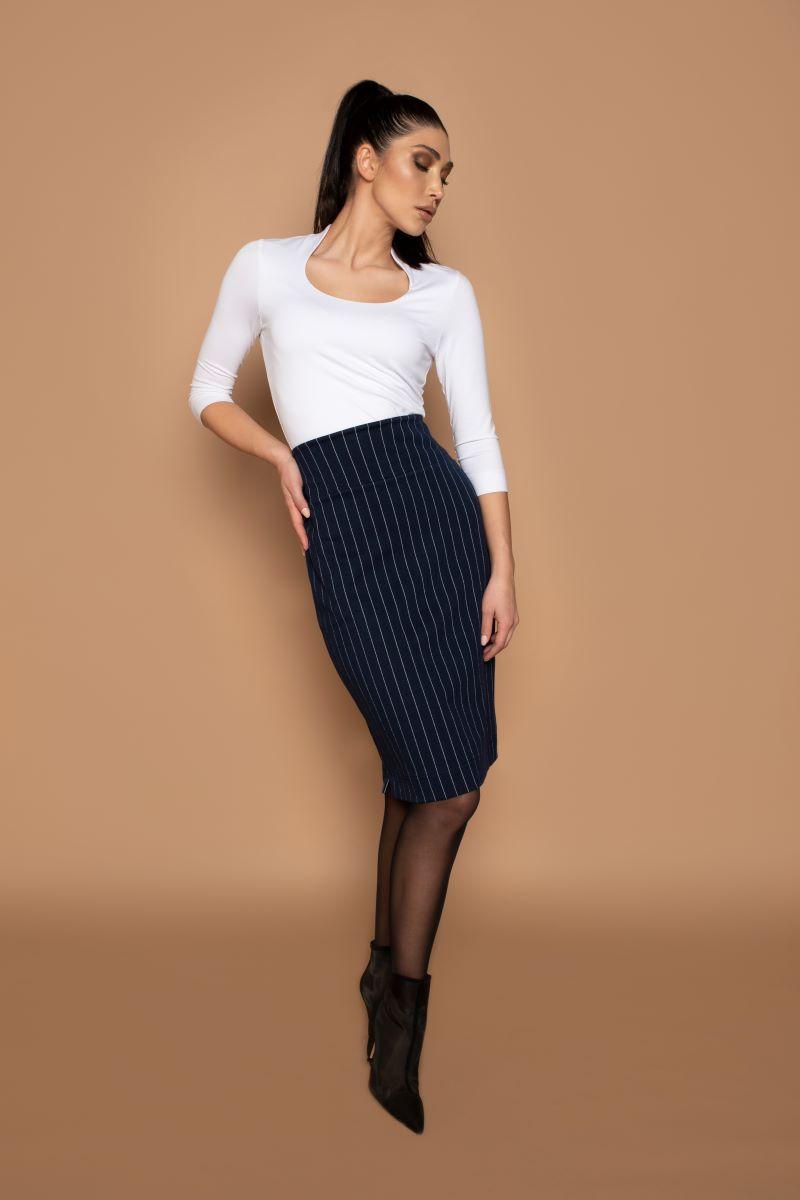 Skirt Split Stripe - Winter 2020